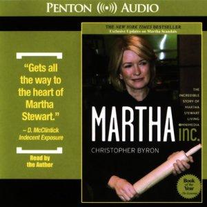 Martha Inc. audiobook cover art