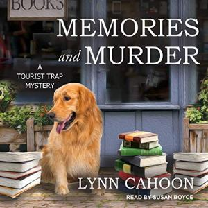 Memories and Murder audiobook cover art