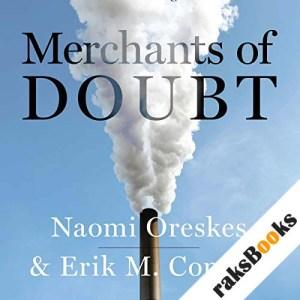 Merchants of Doubt audiobook cover art