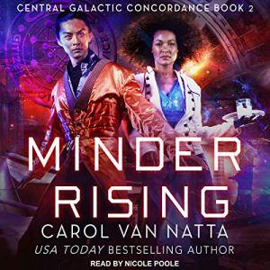 Minder Rising audiobook cover art