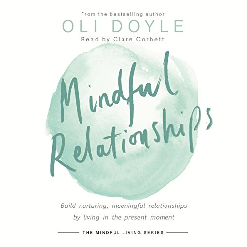 Mindful Relationships audiobook cover art