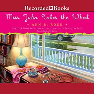 Miss Julia Takes the Wheel audiobook cover art
