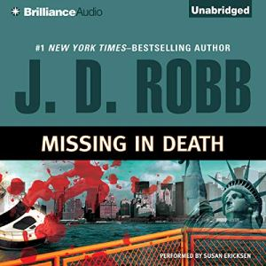 Missing in Death audiobook cover art