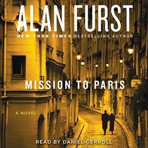 Mission to Paris audiobook cover art
