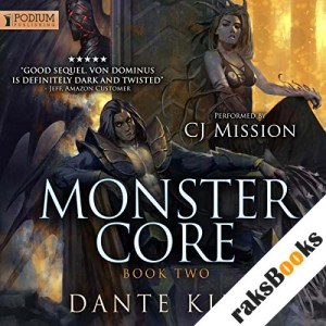 Monster Core 2 audiobook cover art