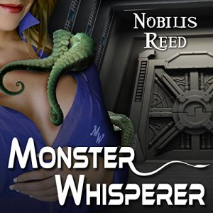 Monster Whisperer audiobook cover art