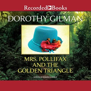 Mrs. Pollifax and the Golden Triangle audiobook cover art