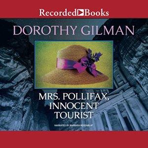 Mrs. Pollifax, Innocent Tourist audiobook cover art