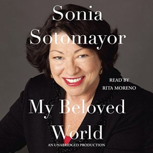 My Beloved World audiobook cover art