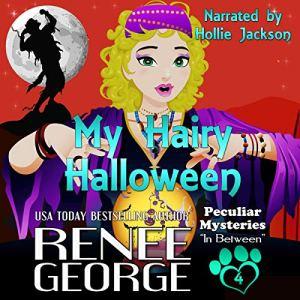 My Hairy Halloween audiobook cover art
