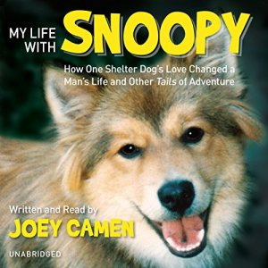 My Life with Snoopy audiobook cover art