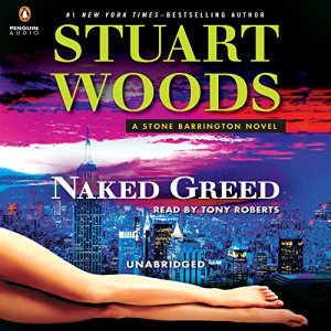 Naked Greed audiobook cover art