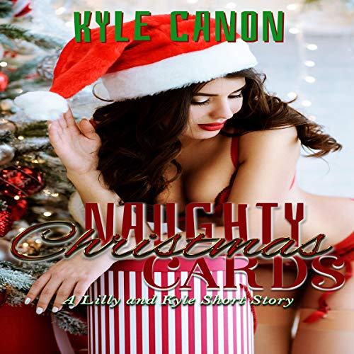Naughty Christmas Cards audiobook cover art