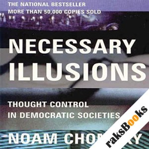 Necessary Illusions audiobook cover art