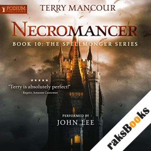 Necromancer audiobook cover art