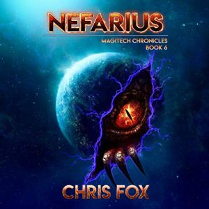 Nefarius audiobook cover art