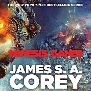 Nemesis Games audiobook cover art
