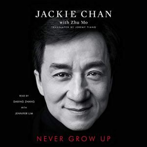 Never Grow Up audiobook cover art