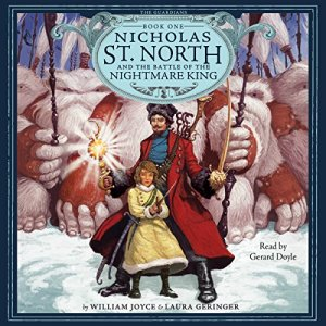 Nicholas St. North and the Battle of the Nightmare King audiobook cover art