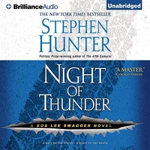 Night of Thunder audiobook cover art