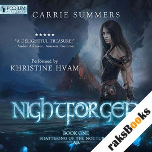 Nightforged audiobook cover art