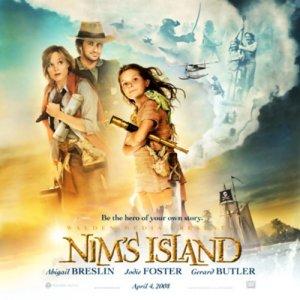 Nim's Island audiobook cover art