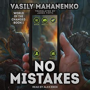 No Mistakes audiobook cover art
