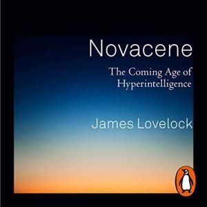 Novacene audiobook cover art