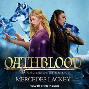 Oathblood audiobook cover art