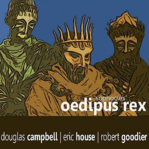 Oedipus Rex audiobook cover art
