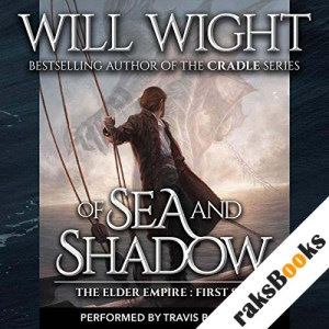 Of Sea and Shadow audiobook cover art