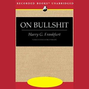 On Bullshit audiobook cover art