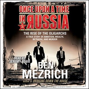 Once upon a Time in Russia audiobook cover art