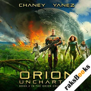 Orion Uncharted audiobook cover art