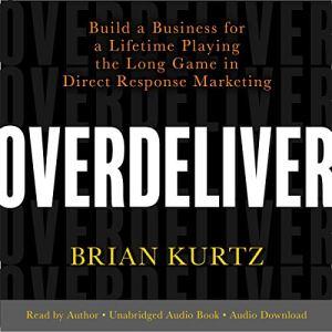 Overdeliver audiobook cover art