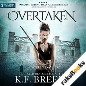 Overtaken audiobook cover art