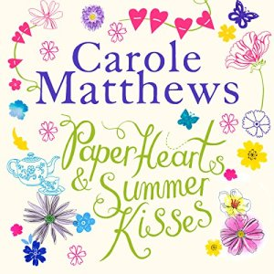 Paper Hearts and Summer Kisses audiobook cover art