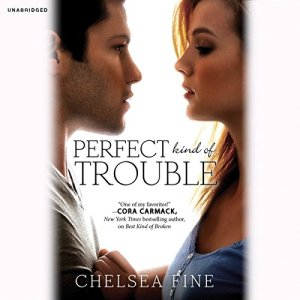 Perfect Kind of Trouble audiobook cover art