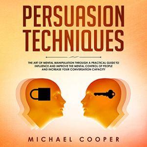 Persuasion Techniques audiobook cover art