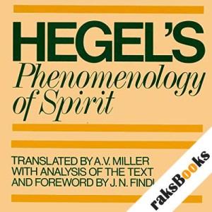 Phenomenology of Spirit audiobook cover art