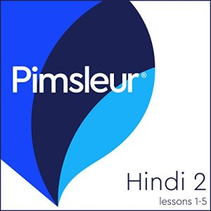 Pimsleur Hindi Level 2 Lessons 1-5 audiobook cover art