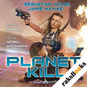 Planet Kill audiobook cover art