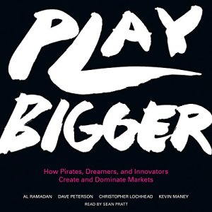 Play Bigger audiobook cover art