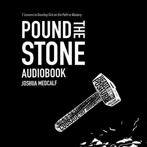 Pound the Stone audiobook cover art