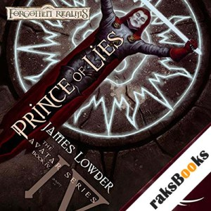 Prince of Lies audiobook cover art