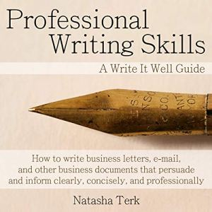 Professional Writing Skills audiobook cover art