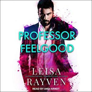Professor Feelgood audiobook cover art