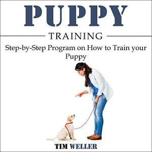 Puppy Training audiobook cover art