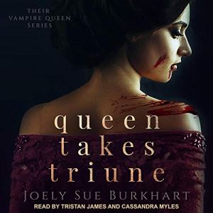 Queen Takes Triune audiobook cover art