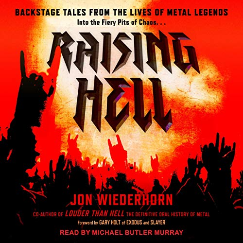 Raising Hell audiobook cover art